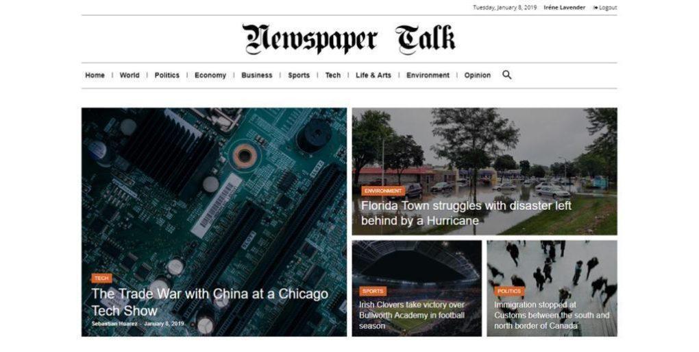 Как работать с header в теме Newspaper: делаем лого и настраиваем элементы