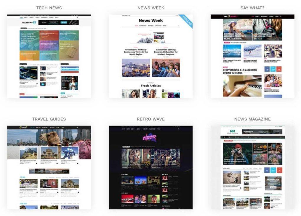 Обзор и описание Newspaper темы для WordPress, красивая и удобная