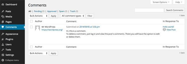 Полный обзор админ панели WordPress: функционал, пункты меню, настройки