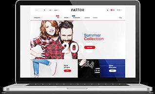 Тема WordPress для интернет магазина Fastor - полный обзор