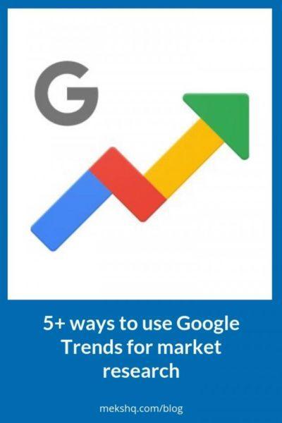 Использование Google трендов для поиска идеи сайта и создания полезного контента
