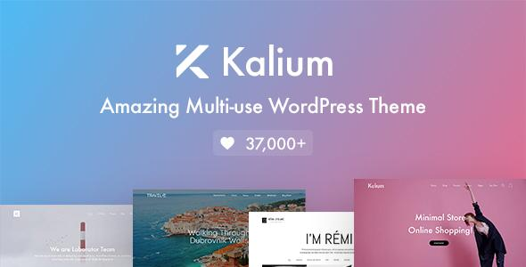 Kalium креативная тема для профессионалов