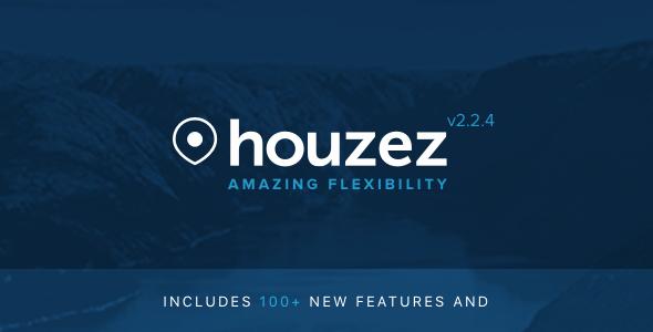 Houzez WordPress тема по недвижимости