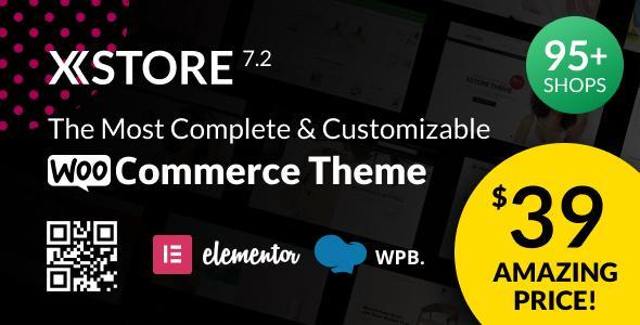 Xstore   Адаптивная многоцелевая тема WordPress для Woocommerce