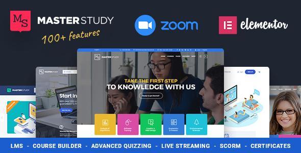Тема WordPress для образования Masterstudy