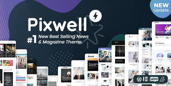 Pixwell современный журнал