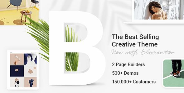 Bridge креативная многоцелевая тема WordPress