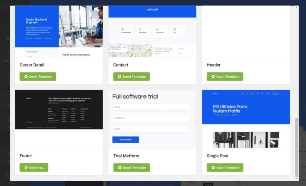 Что такое Elementor Template Kits и как его установить на свой сайт